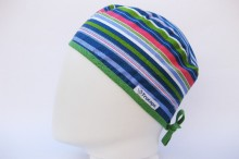 Gorro Quirofano Franjas TRUCAPS , lateral H
