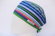 Gorro quirofano Franjas S TRUCAPS, lateral