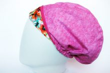 Gorro Quirofano reversible Flores, lateral