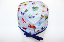 Gorro Quirofano Transportes H, traseral